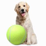 Pelota Tennis Gigante Juguete Para Mascota 24 Cm Q1016