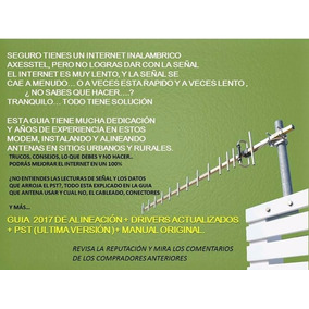 Mejora Tu Señal De Modem Axesstel Y Antena Programa Combo
