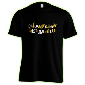 Las Pastillas Del Abuelo : Remera Premium + Pin : Logo Mix