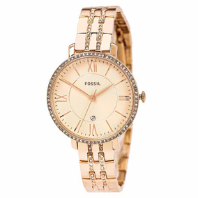 Reloj Fossil Es3546 Jacqueline Rose-tone Stainless Steel