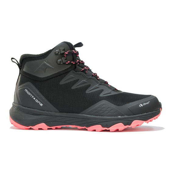 Bota Montagne Mujer Low Raider Trekking Traill Impermeables