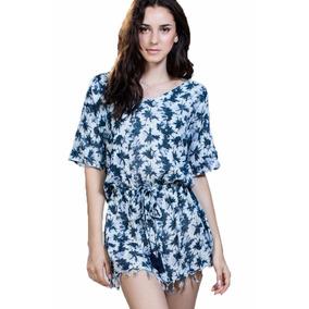Vestido Ark & Co. Con Estampado Floral Azul