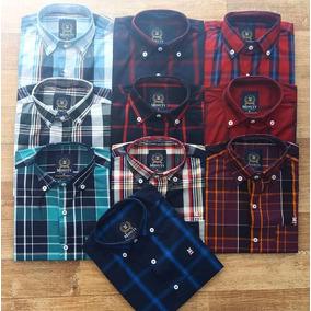 Kit 5 Camisa Masculina Xadrez Minuty Country Promoção 0ff62ba6d48