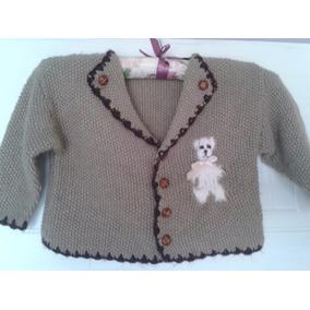 Saquito Cardigan Sweater Con Aplique Como Nuevo!!!! Talle 2
