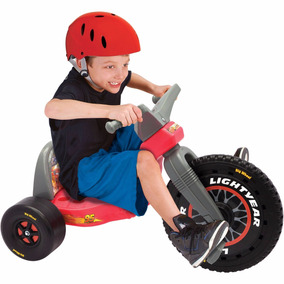 Triciclo Cars Disney -rueda Grande Big Wheel, Niños 3-8 Años