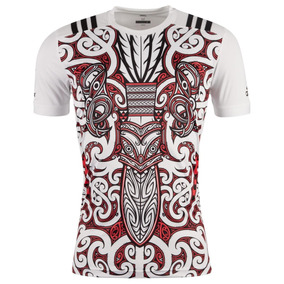 Camiseta Maori All Blacks Rugby Performance