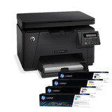 Hp Impresora Multifunción Laser Pro M176n Color Cf547a