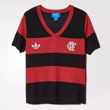 Blusa Originals Farm Flamengo adidas Feminina