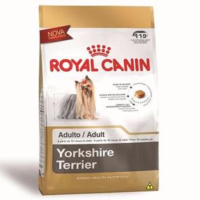 Ração Royal Canin Adultos Da Raça Yorkshire 7,5 Kg +brinde