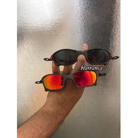 1b662a6a76007 Mundo Oakley - Óculos De Sol Oakley Juliet em Diadema no Mercado ...