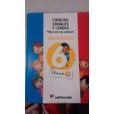 Libro Ciencias Sociales Y Lengua - Conocer - 6to Grado!