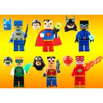 Set La Liga De La Justicia Ft Minecraft Compatible Con Lego