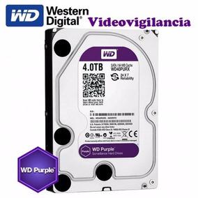 Disco Duro Western Digital Purpura, 4 Tb, Sata 6 Gb/s, 3.5