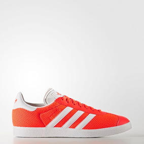 Tenis adidas Gazelle Naranja Casuales Caballero