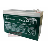Bateria Global 12v 9ah E-bike Chronos Nf-e Garantia.
