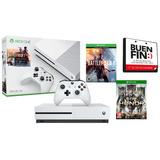 Xbox One 500gb Con 2 Juegos Battlefield Y For Honor