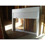 Ventanas Aluminio C/cortina Monoblock 1.50 × 1.00