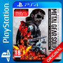 Metal Gear Solid V 5 Definitive Experience Ps4 Digital