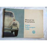 Fusca Manual 66 - Manual Original .ano 1966
