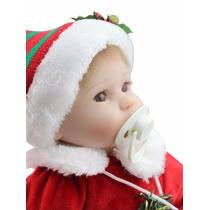 Bebe Realista Reborn Vestindo Muito Bonito Roupa Natal