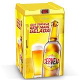 Cervejeira Venax Expm100l 82 Litros Amarela Adesivo Sua Cerv