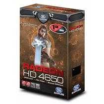 Placa De Vídeo Sapphire Radeon Hd 4650 1gb Ddr2 128 Bits