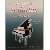 Las Mejores Baladas Para Piano - Tablatura Partitura Libro