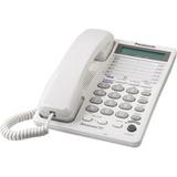 Teléfono Panasonic Kx-ts208,análogo, 2 Lineas, De Mesa