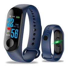 Coolmex Reloj Smartband M3 Medidor Ritmo Cardiaco, Pedometro