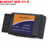 Scanner Wifi Ios Iphone Android Automotivo Elm327 Obd2 20107