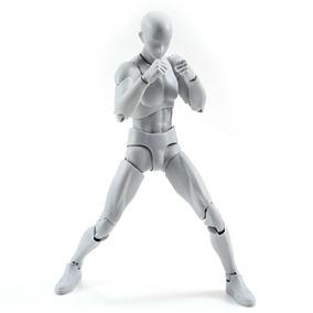 Figura De Cuerpo Masculino Japonesa Kun Dx Gris En Caja
