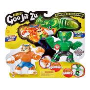 Heroes Of Goo Jit Zu Set X 2 Figuras De Accion Flexibles