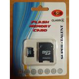 Memoria Micro Sd 4 Gb Con Adaptador Y Blister Super Talent