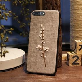 Para Iphone Plus 8 7 Retro Manera Modelo Planta Flor