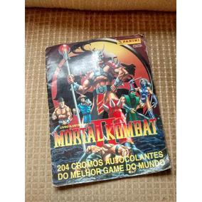 Álbum Mortal Kombat Ii (completo)