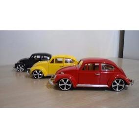 Fusca Miniatura Escala 1:18 Roda Sport Banco Reclinavel