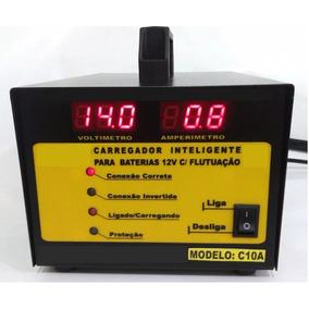 Carregador De Bateria 12v 15ah - Flutuação Automática