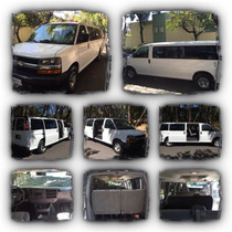 Renta De Camionetas Express Van / Toyota Hiace Y Autos