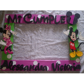Marco Fotografico Para Fotos Mickey Y Minnie Mouse
