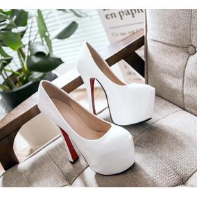 Sapato Plataforma Feminina Importado - Pronta Entrega