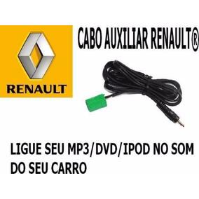 Cabo Auxiliar Renault Cd Original Megane Clio Symbol Aux -$