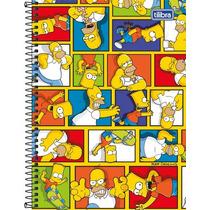 Combo 4 Cadernos Tilibra Os Simpsons 1 Materia 96 Folhas