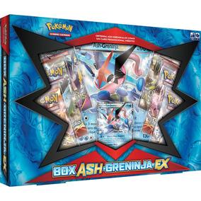 Caixa Greninja Ash - Pokémon - Lançamento Carta Gigante