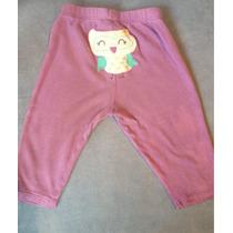 Pantalón Bebe Niña 3 Y 6 Meses Marca Carter
