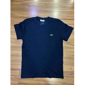 936083fa5f8 Camiseta Lacoste Modelo Novo - Camisetas Manga Curta no Mercado ...