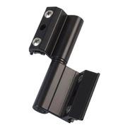 Bisagra H61 Para Ventana De Aluminio Módena Negra X Unid