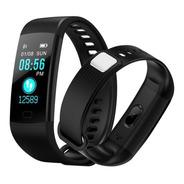 Smart Watch Reloj Inteligente Y5 Pasos, R.cardiaco, Presión