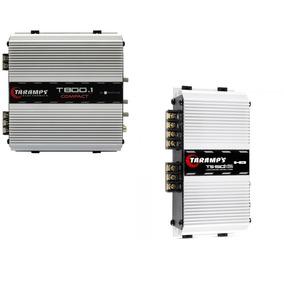 Módulo Amplificador Taramps Ts150 X2 + T800 800w Rms 2 Ohms