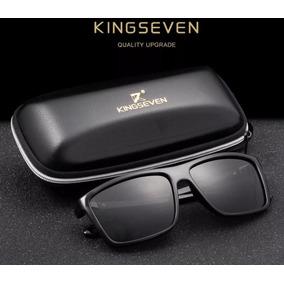 28b24306443a7 Óculos De Sol Escuro Kingseven S730 Proteção Uv400,uva E Uvb