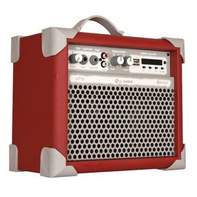 Caixa De Som Amplificada Multiuso Ll Audio Up 5 Deep Red